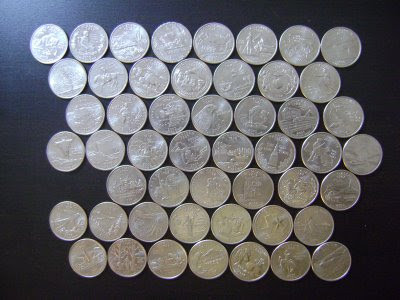 Elegant Dew Moon Drop 50 States Coin Collection 50 State Quarter Collection Of Adorable 42 Pictures 50 State Quarter Collection