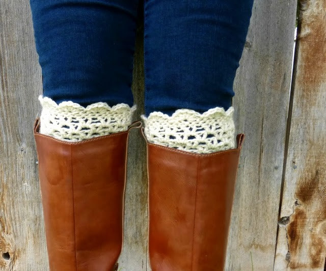 DIY Crochet Boot Cuff Patterns 7 Free Designs