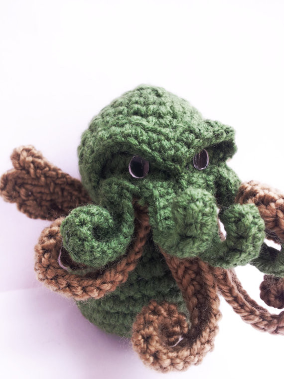 Elegant Doll Cthulhu Amigurumi Crochet – Cthulhu Shop Crochet Shop Of Lovely 48 Images Crochet Shop