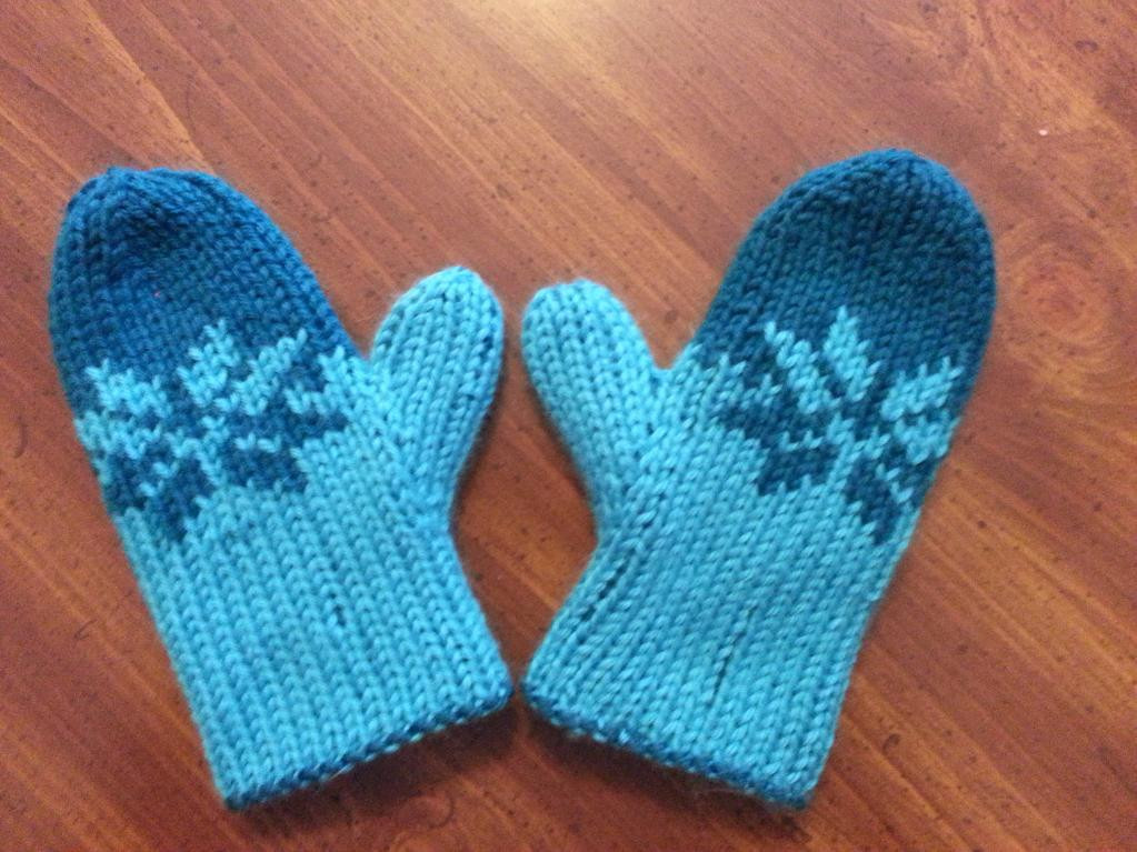 Elegant Double Knit Child S Fair isle Mittens by Mary Foster Moran Double Knitting Patterns Of Attractive 46 Models Double Knitting Patterns