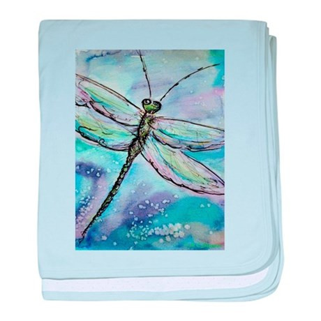 Elegant Dragonfly Nature Art Baby Blanket by Meowries Dragonfly Blanket Of Incredible 45 Ideas Dragonfly Blanket
