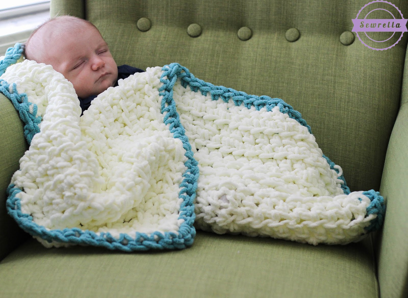 Elegant Easy Beginner Baby Blanket Sewrella Easiest Crochet Blanket Of New 50 Images Easiest Crochet Blanket