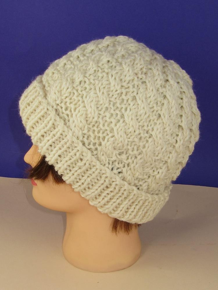 Elegant Easy Cable Chunky Uni Beanie Hat Knitting Pattern by Cable Hat Pattern Of New 40 Models Cable Hat Pattern