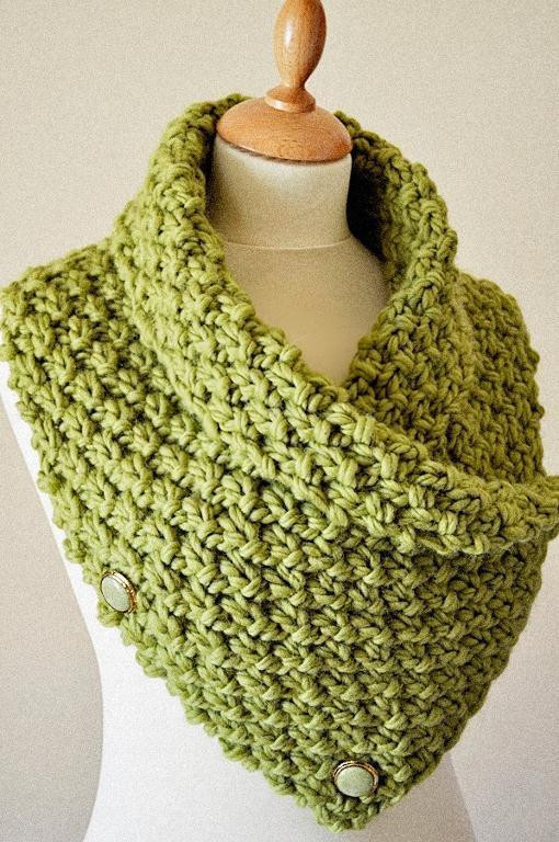 Elegant Easy Chunky Knit Neck Warmer Cowl Knitting Pattern by Arty Knitted Neck Warmer Of Amazing 47 Ideas Knitted Neck Warmer