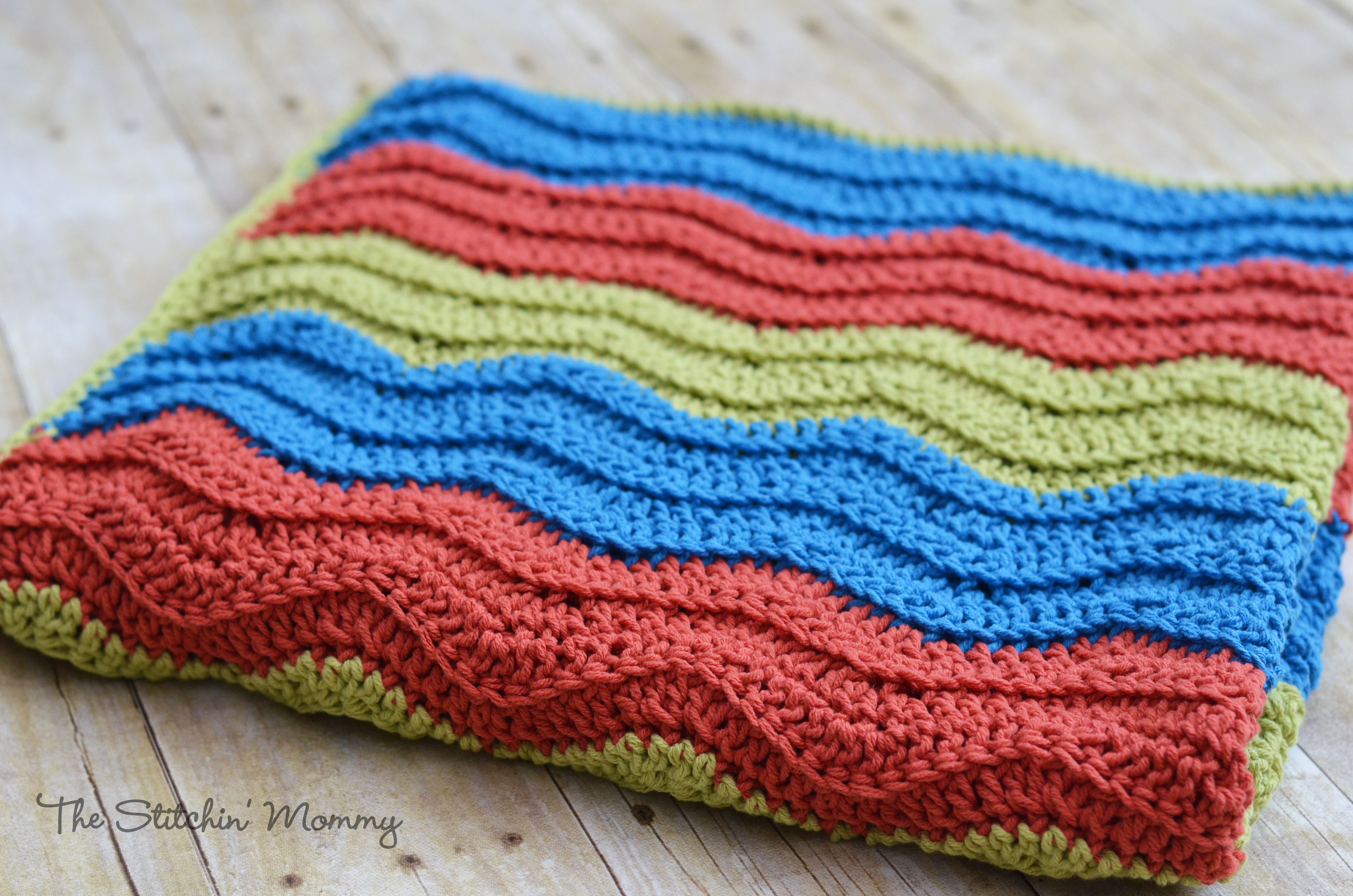 Elegant Easy Crochet Ripple Blanket the Stitchin Mommy Easiest Crochet Blanket Of New 50 Images Easiest Crochet Blanket