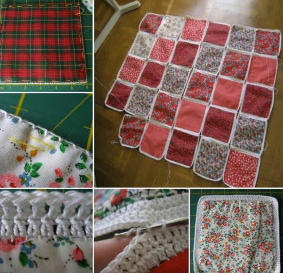 Fabric Crochet Quilt Is The Project You ve Been Looking For