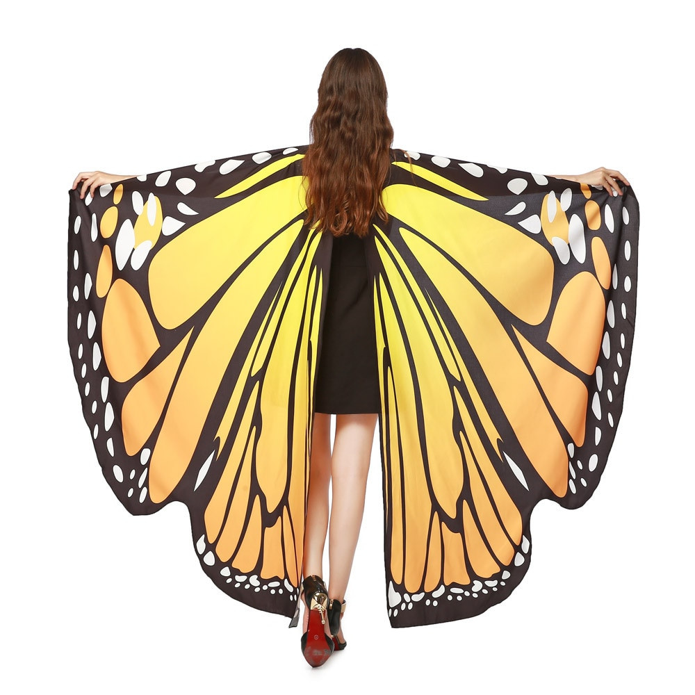 Elegant Fashion Scarf Women Shawls and Scarves butterfly Wings butterfly Shawl Of Wonderful 44 Pics butterfly Shawl