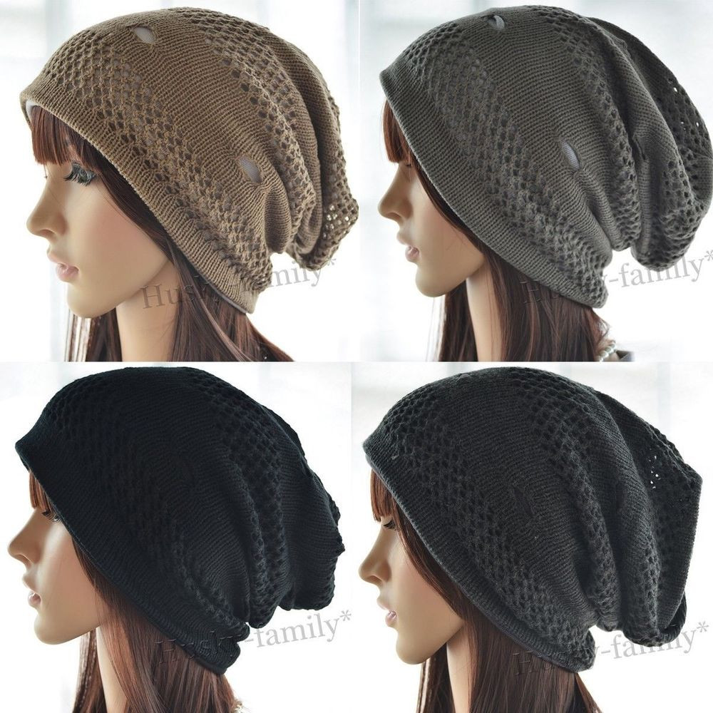 Elegant Fashion Uni Knit Beanie Baggy Slouchy Hat Hipster Skull Slouchy Winter Hat Of Top 47 Models Slouchy Winter Hat