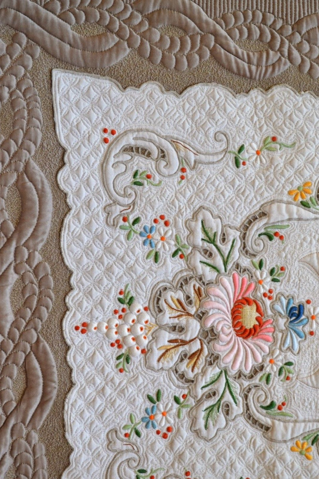 Elegant Featuring Kathleen Rountree Again Embroidery Quilt Patterns Of Contemporary 50 Pictures Embroidery Quilt Patterns