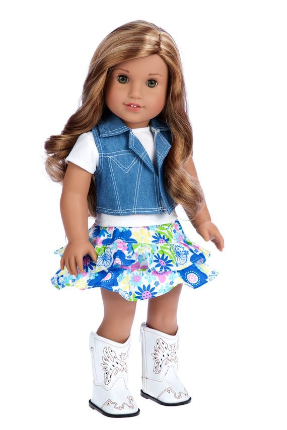 Elegant Feeling Happy Doll Clothes for 18 Inch Doll 4 Piece American Girl Doll Skirts Of Incredible 50 Ideas American Girl Doll Skirts