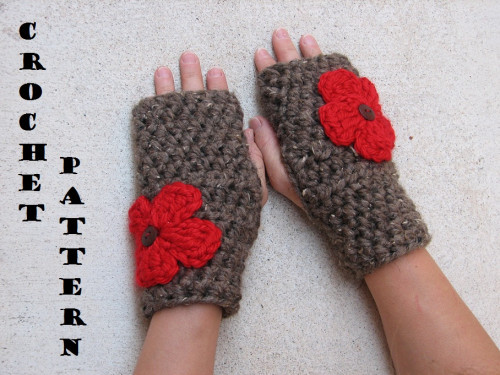 Elegant Fingerless Gloves with Flower Crochet Pattern Pdf Easy Easy Fingerless Gloves Crochet Pattern Of Innovative 49 Photos Easy Fingerless Gloves Crochet Pattern