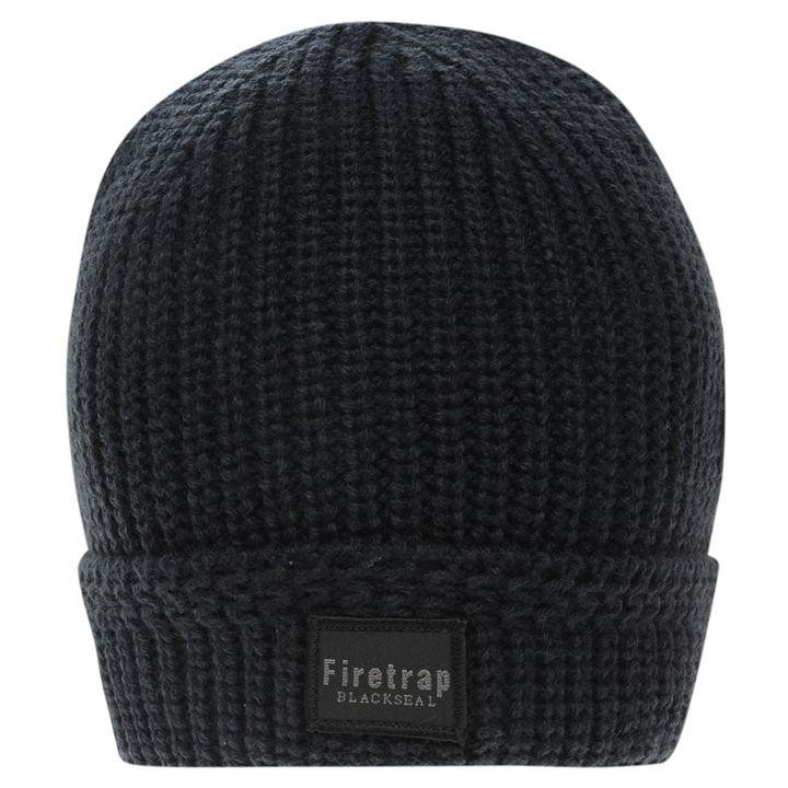 Elegant Firetrap Blackseal Ribbed Hat Knitted Ribbed Hat Of Amazing 42 Pictures Ribbed Hat
