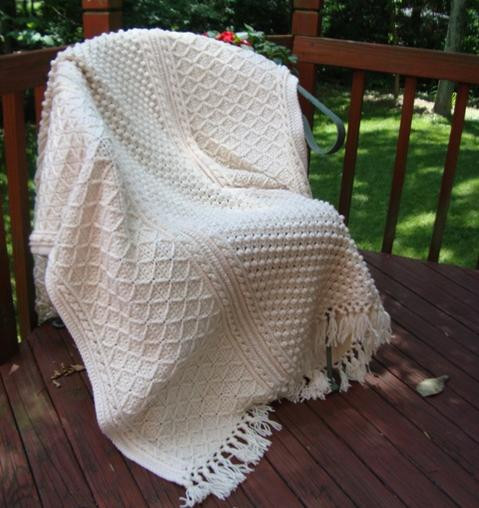 Elegant Fisherman Wedding Afghan Afghans Crochetville Wedding Afghan Crochet Pattern Of Wonderful 45 Pics Wedding Afghan Crochet Pattern