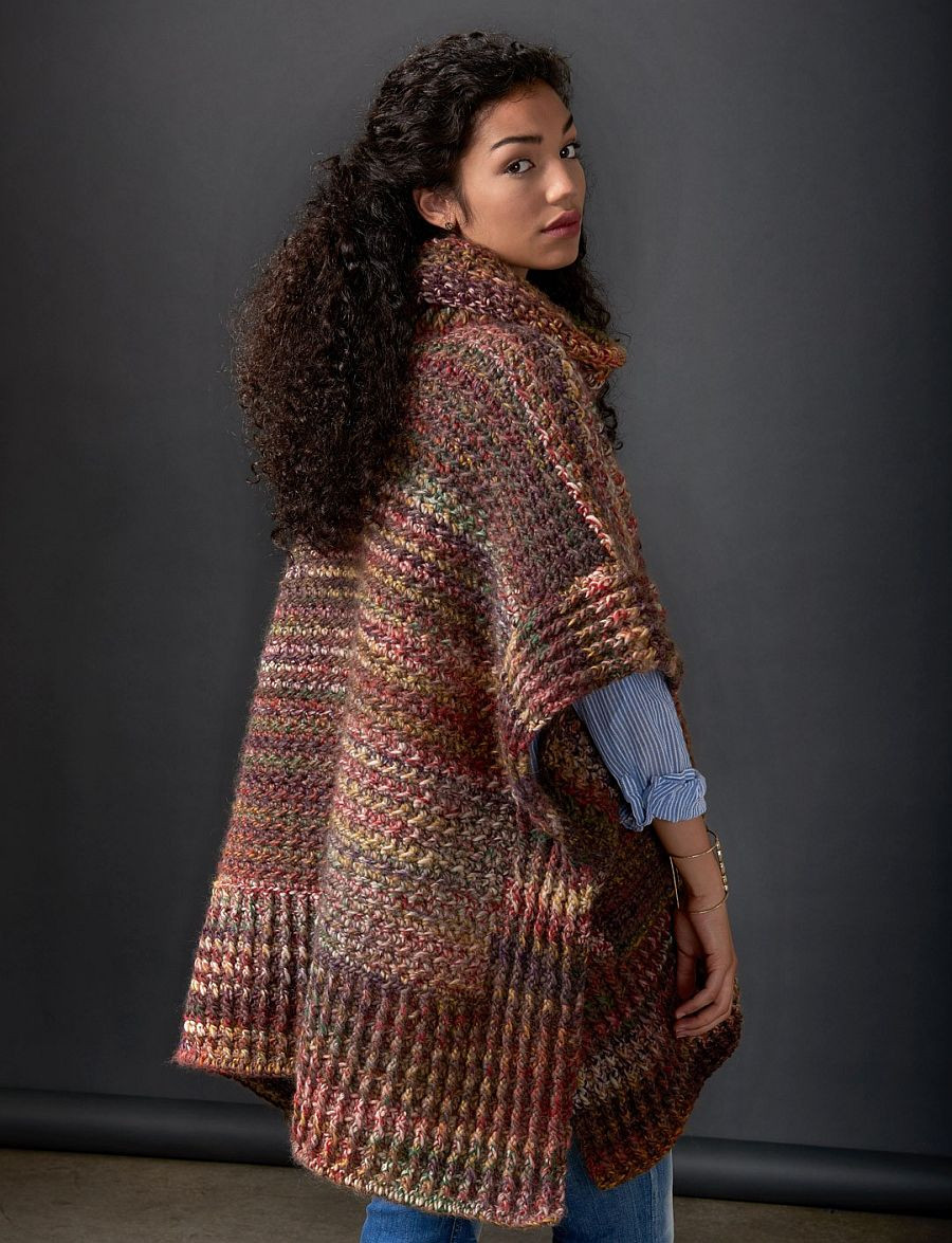 Elegant Flatter Your Figure with these Free Crochet Poncho Patterns Crochet Cape Pattern Of Wonderful 49 Models Crochet Cape Pattern