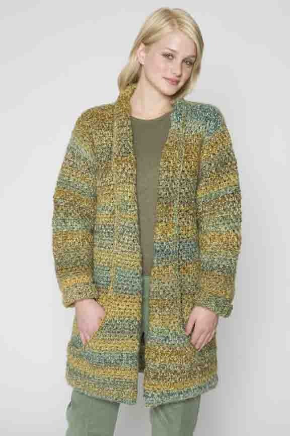 Elegant Flattering Jacket In Lion Brand Homespun Ad Crochet Jackets Patterns Of Top 44 Photos Crochet Jackets Patterns