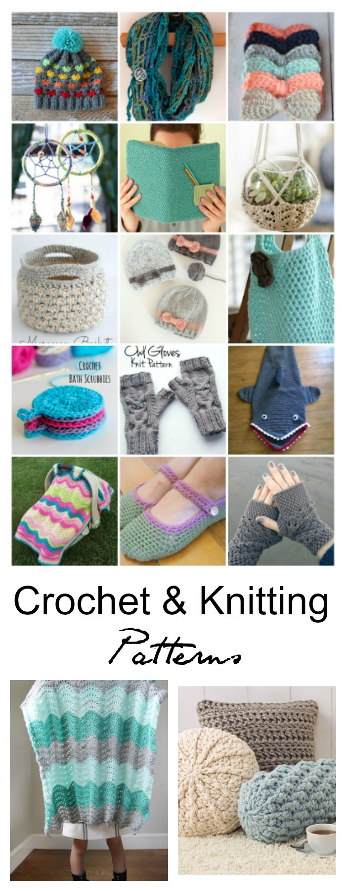 Elegant Free Crochet and Knitting Patterns the Idea Room Knitting and Crochet Patterns Of Adorable 46 Ideas Knitting and Crochet Patterns