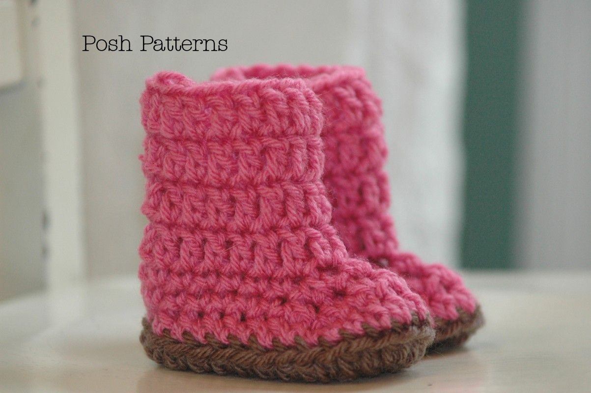 Free Crochet Baby Shoe Pattern