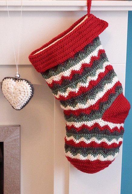 Elegant Free Crochet Pattern Christmas Stocking – Make It Crochet Crochet Pattern for Christmas Stocking Of Lovely Christmas Stockings Crochet Pattern for Christmas Stocking