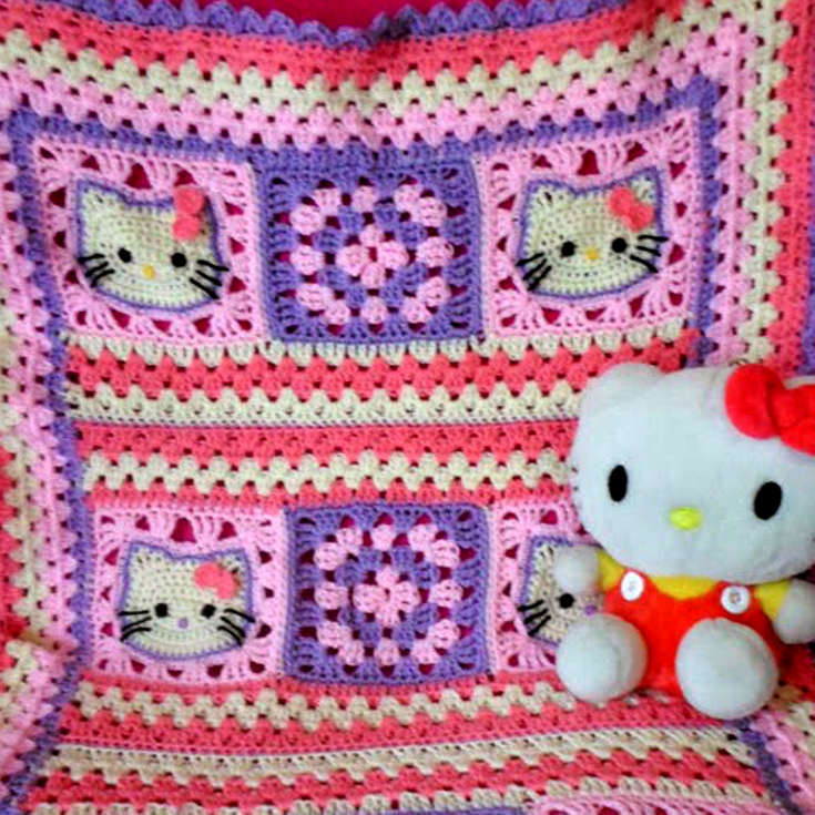 Elegant Free Crochet Pattern for Hello Kitty Afghan Pakbit for Hello Kitty Crochet Pattern Of Luxury 47 Images Hello Kitty Crochet Pattern