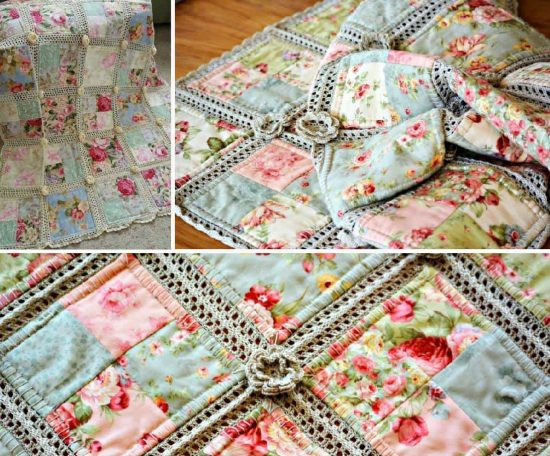 Free Crochet Pattern For Quilts Dancox for