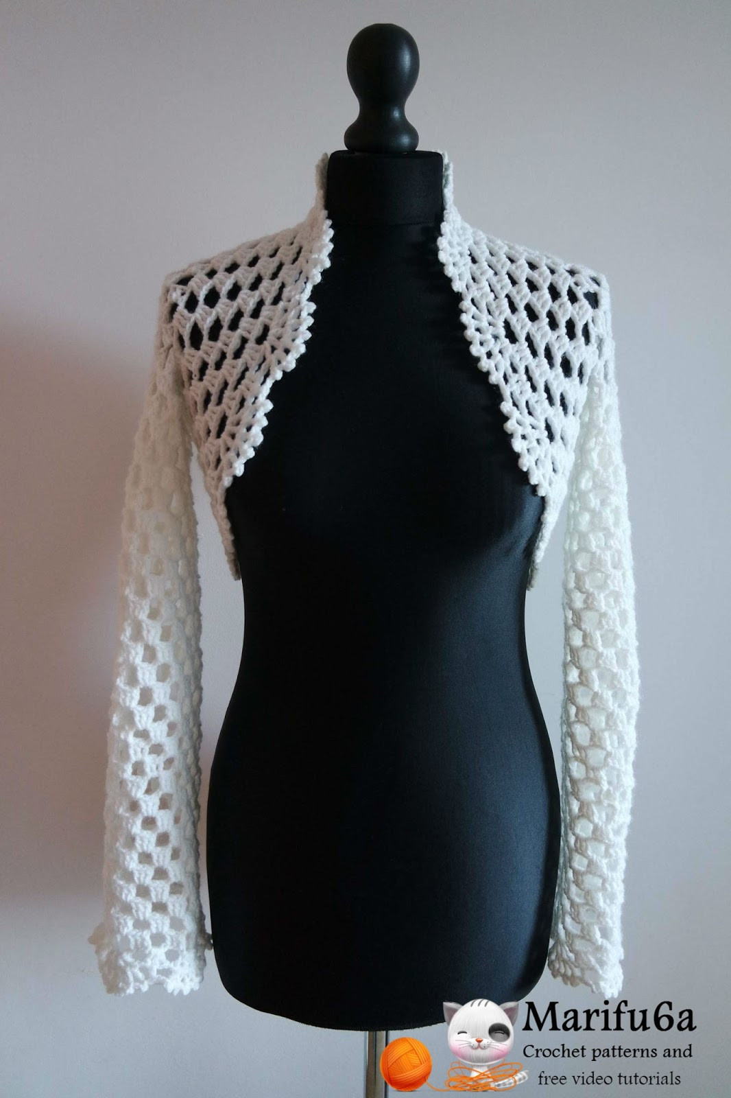 Elegant Free Crochet Patterns and Video Tutorials How to Crochet Shrug Pattern Of Contemporary 48 Images Shrug Pattern