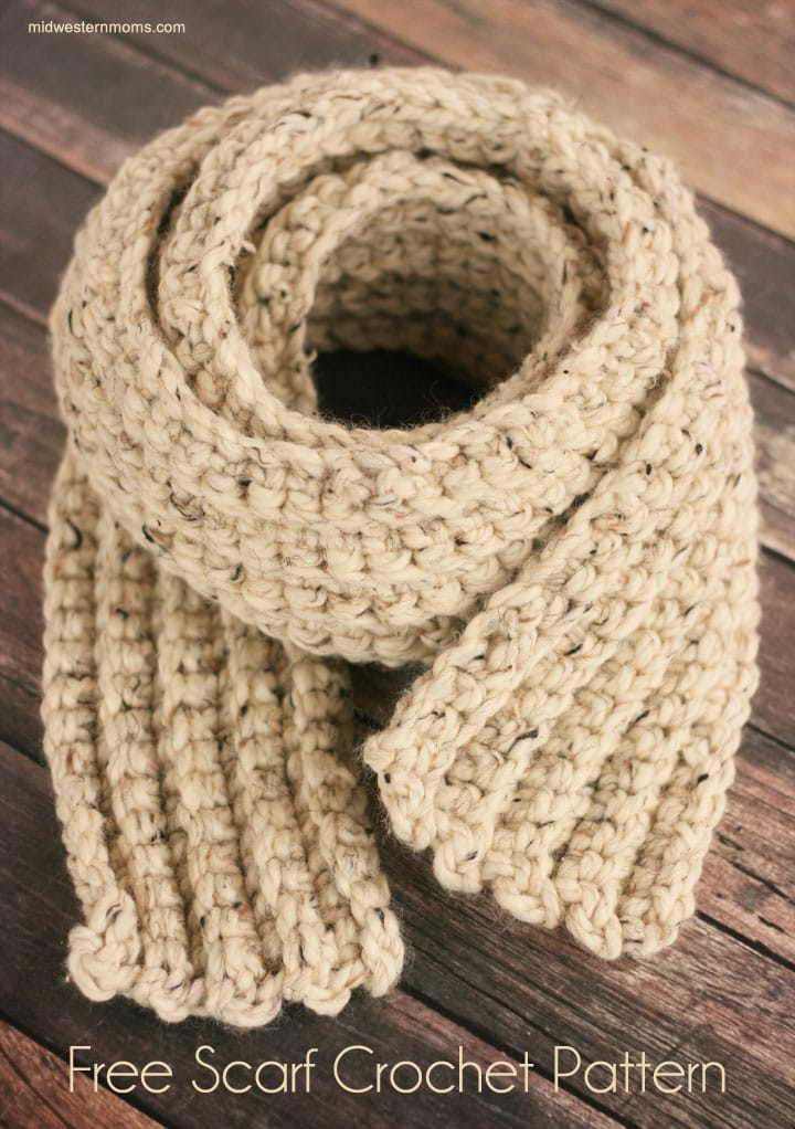 Free Crochet Scarf Patterns To Print Dancox for