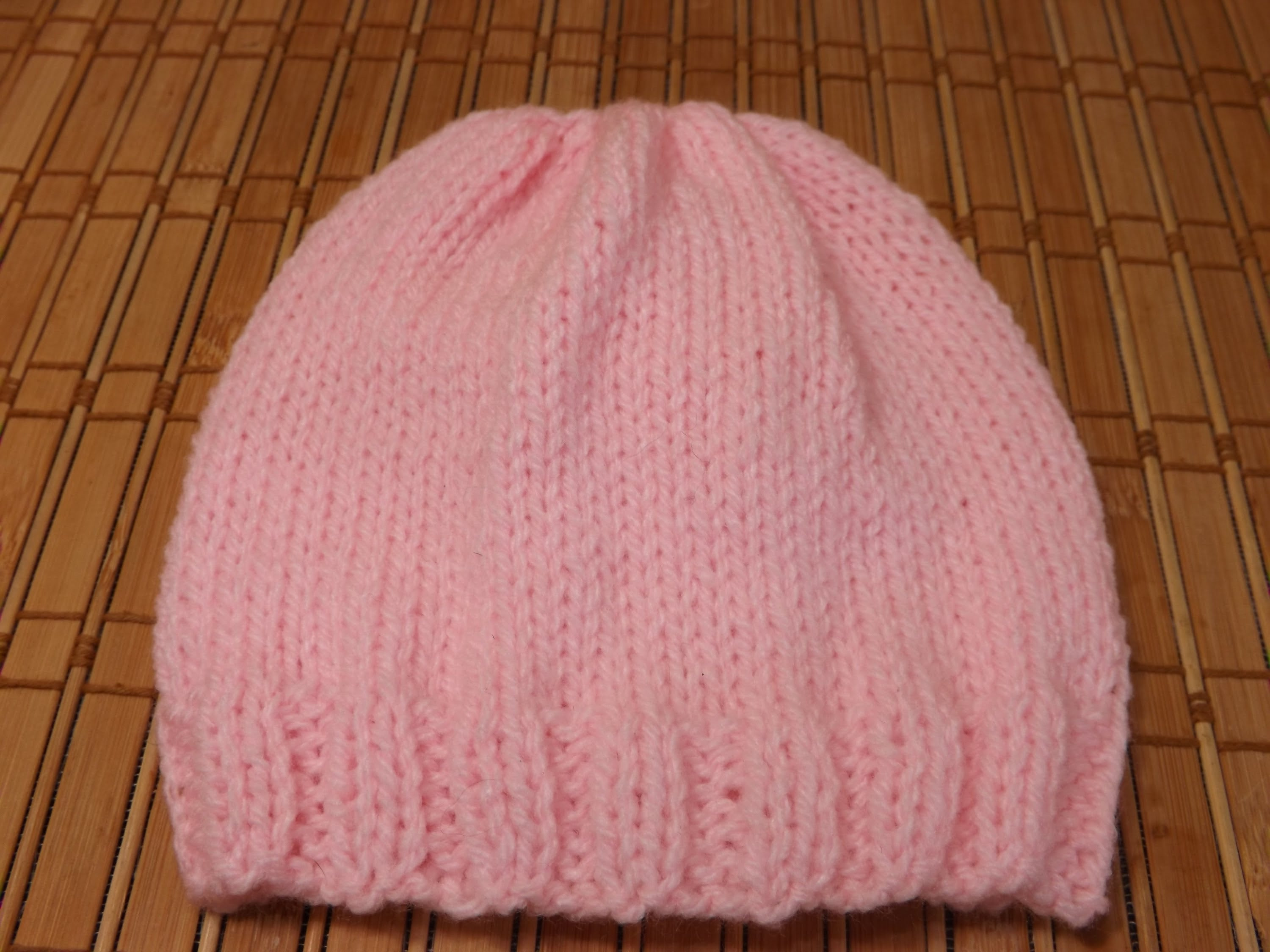 Elegant Free Easy Knitting Patterns for Beginners Hats Knitted Baby Bonnet Of Top 47 Pics Knitted Baby Bonnet