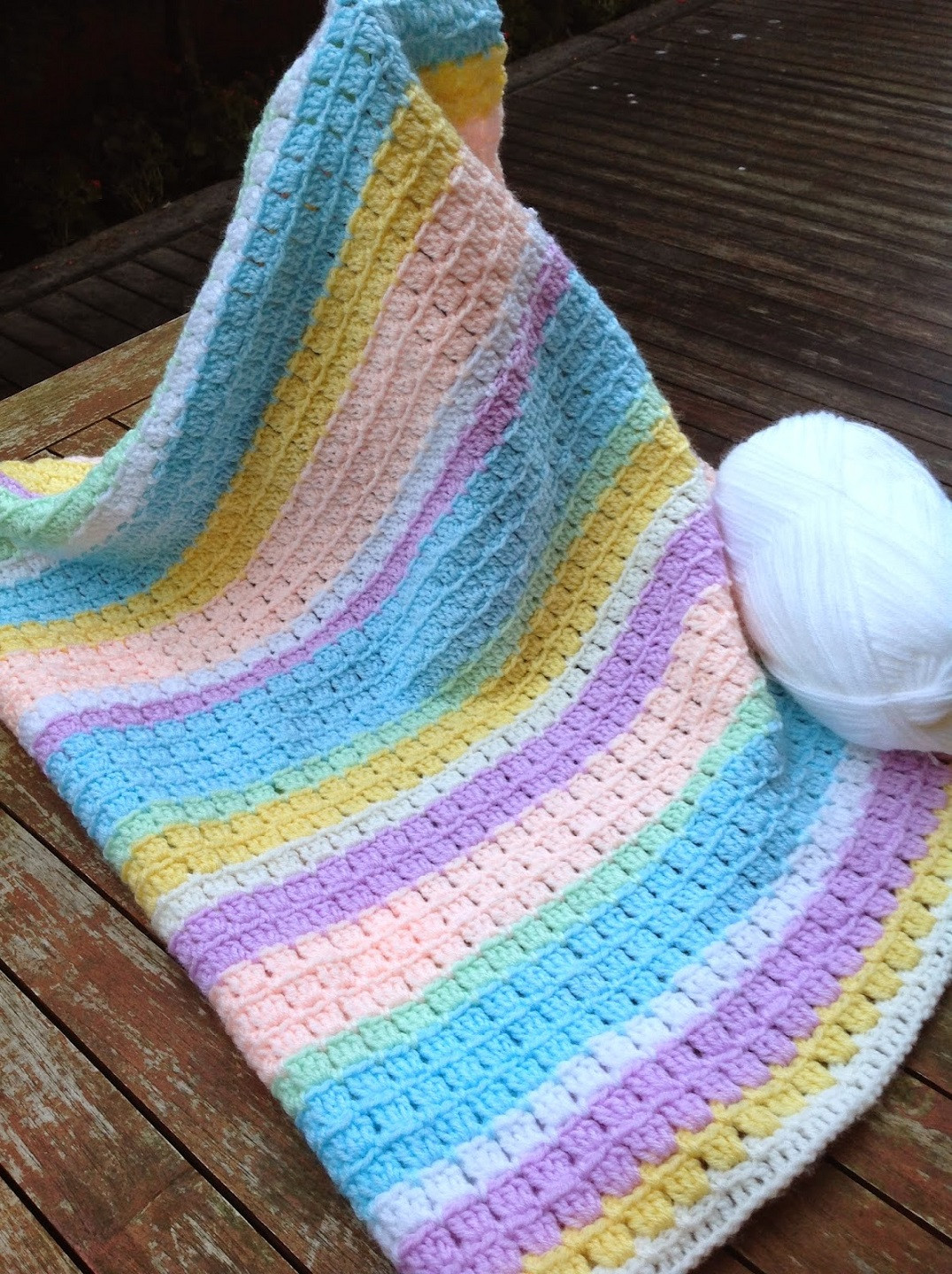 Elegant [free Pattern] Adorable Block Stitch Baby Blanket Knit Free Knitting and Crochet Patterns Of Marvelous 44 Ideas Free Knitting and Crochet Patterns