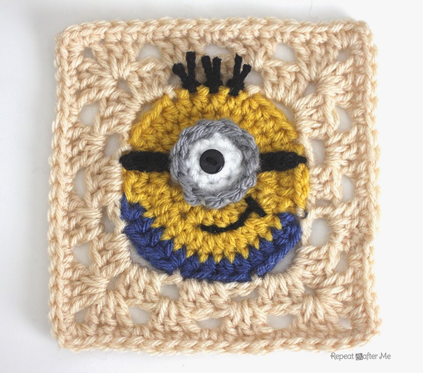 [Free Pattern] Make Your Own Crochet Despicable Me Minion