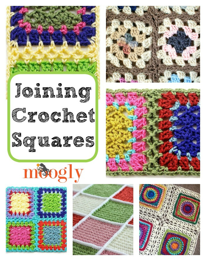 Get It To her How to Join Crochet Squares 12 Ways