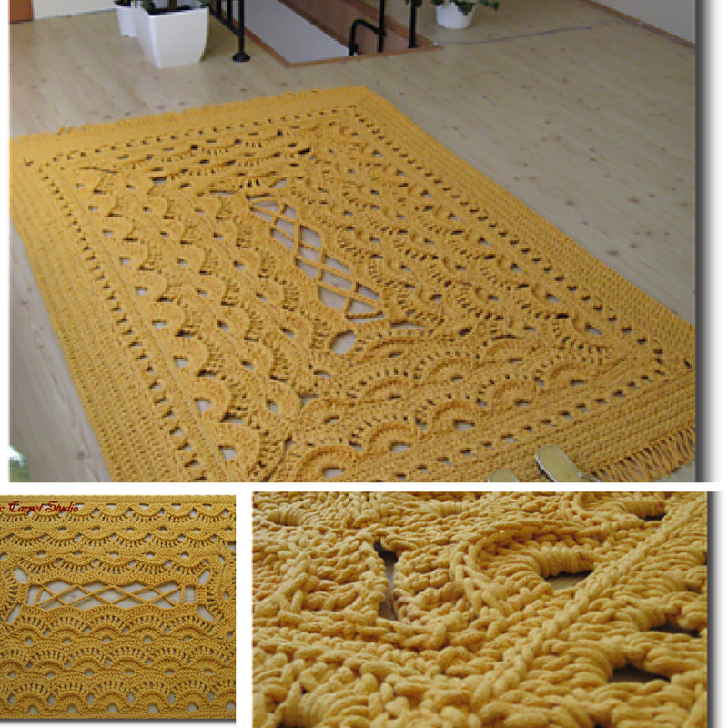 Elegant Giant area Rugs Free Crochet Patterns Knit and Crochet Daily Free Crochet Rug Patterns Of Delightful 48 Pics Free Crochet Rug Patterns
