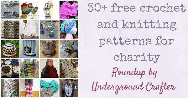 Elegant Giving Tuesday Roundup 30 Free Crochet and Knitting Knitting for Charity organizations Of Amazing 45 Ideas Knitting for Charity organizations