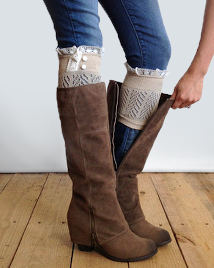 Elegant Grace and Lace Boot Cuffs as Seen Shark Tank Boot Lace Boot Cuffs Of Awesome 50 Pictures Lace Boot Cuffs
