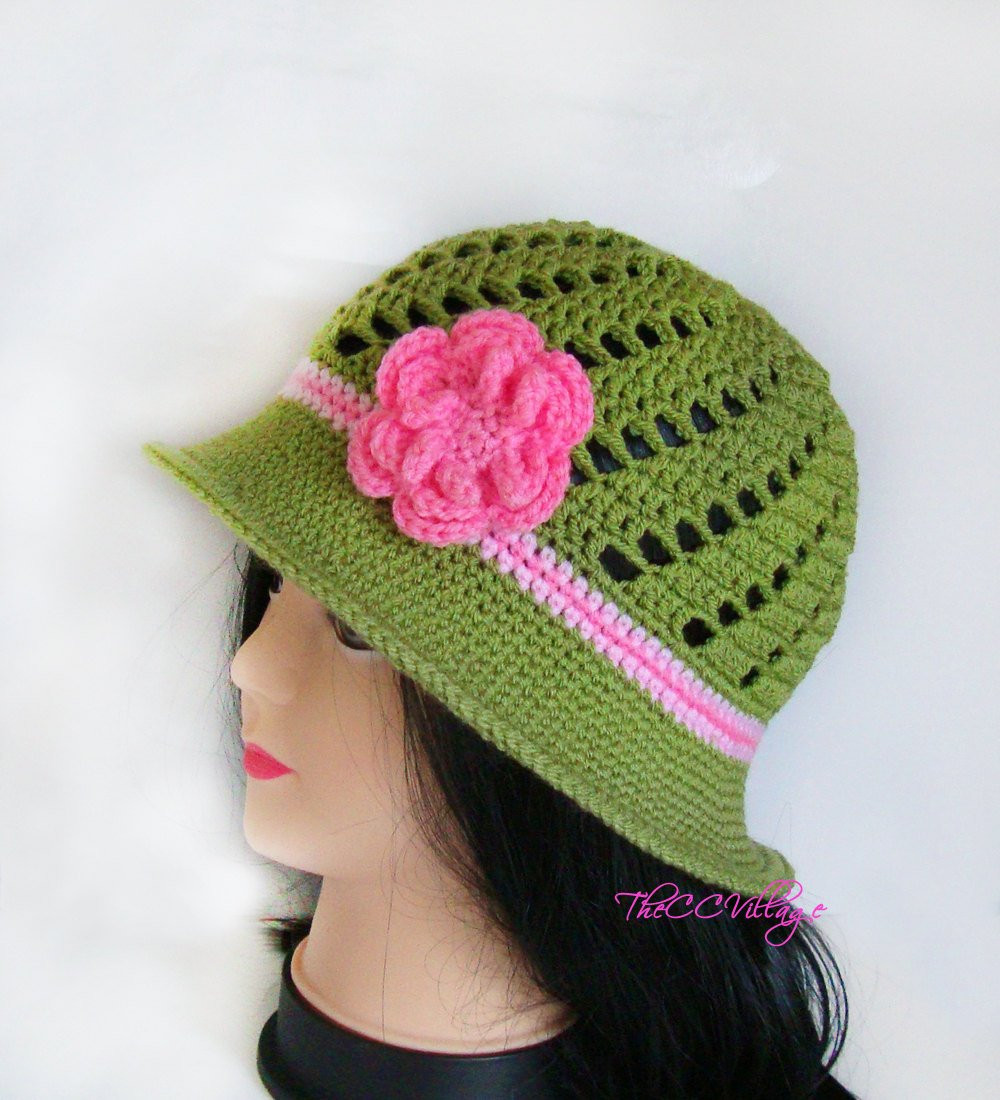 Elegant Green Crochet Womens Hats Handmade Teen Hat Woman Cap Handmade Crochet Of Delightful 40 Pics Handmade Crochet