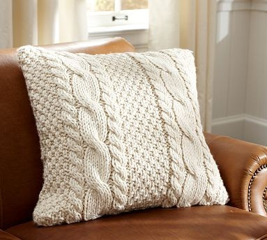 Elegant Hand Knit Cable Pillow Cover Contemporary Decorative Cable Knit Throw Pillow Of Great 48 Ideas Cable Knit Throw Pillow