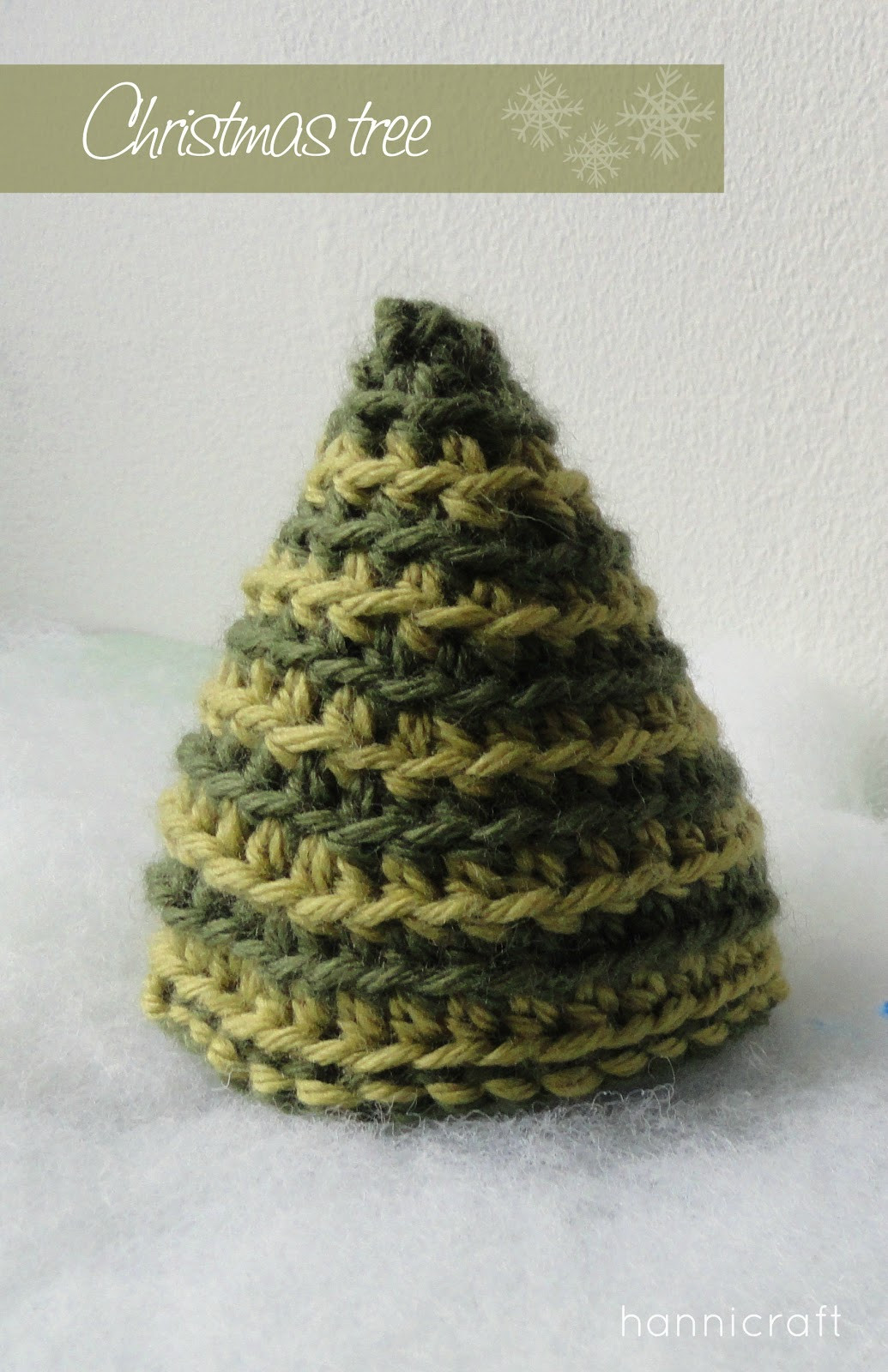 hannicraft Crochet Christmas Tree