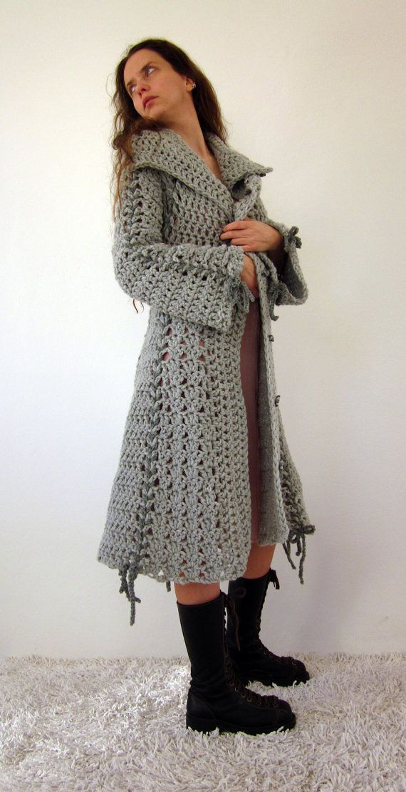Elegant Hate Everything About This Pic but Done Right the Idea Of Crochet Coat Of Amazing 45 Pics Crochet Coat