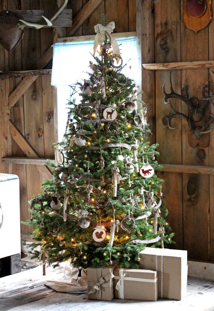 Elegant Have Yourself A Very Rustic Christmas Fynes Designs Christmas Tree and Decorations Of Delightful 50 Pictures Christmas Tree and Decorations