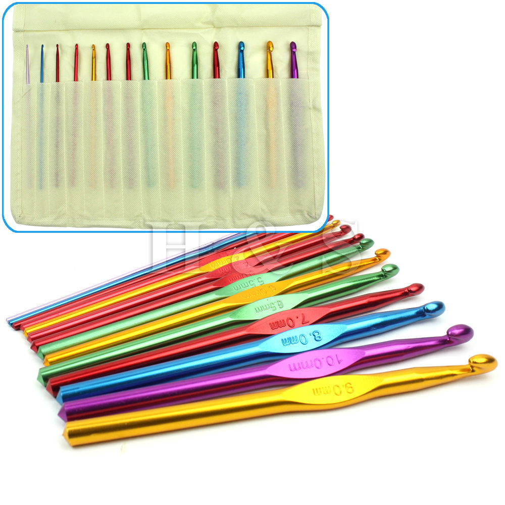 Elegant High Quality Set 14 Tunisian Afghan Crochet Hooks Needle Tunisian Crochet Hook Sets Of Brilliant 46 Pics Tunisian Crochet Hook Sets