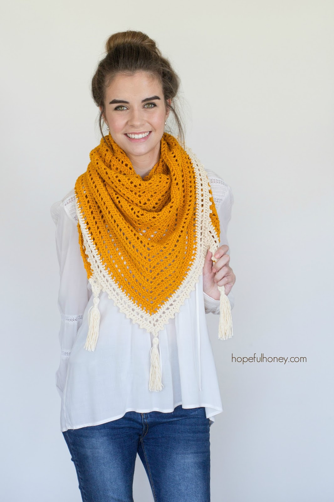 Elegant Honey Bird Triangle Scarf Free Crochet Pattern Triangle Scarf Crochet Pattern Of Marvelous 44 Photos Triangle Scarf Crochet Pattern