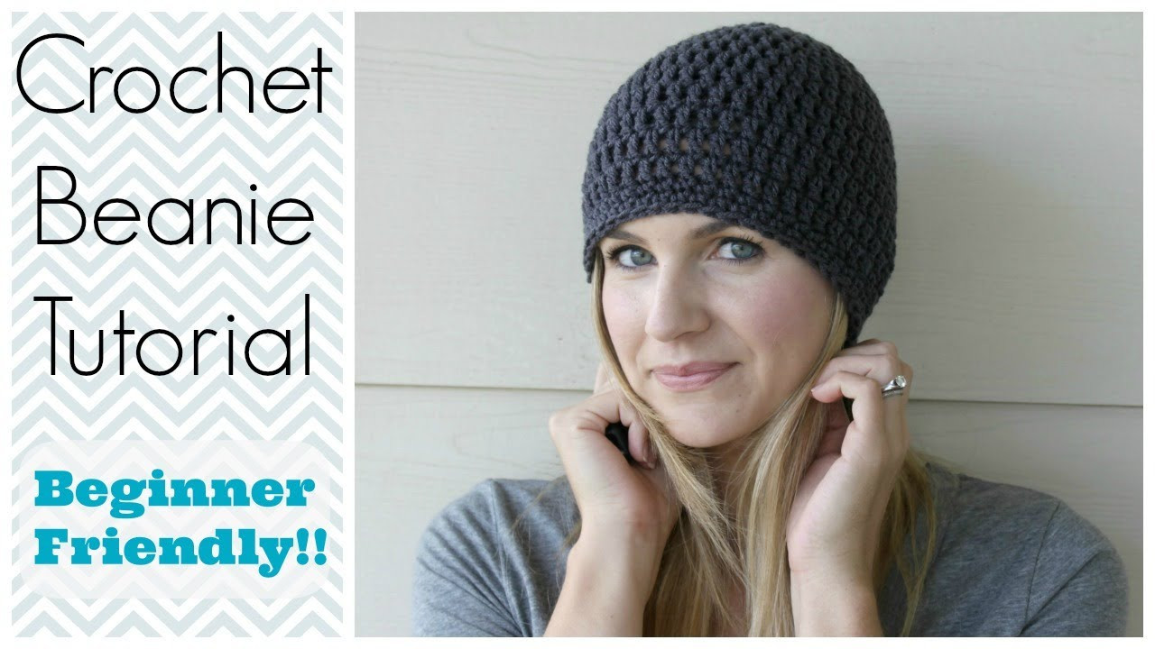 Elegant How to Crochet A Beanie Tutorial Beginner Friendly Crochet for Beginners Youtube Of Fresh 43 Ideas Crochet for Beginners Youtube