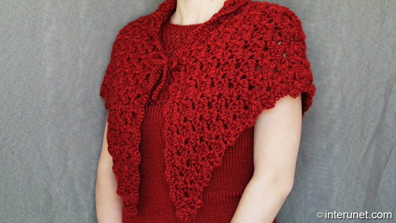 Elegant How to Crochet A Shawl Video Tutorial with Detailed Crochet A Shawl Of Innovative 48 Images Crochet A Shawl
