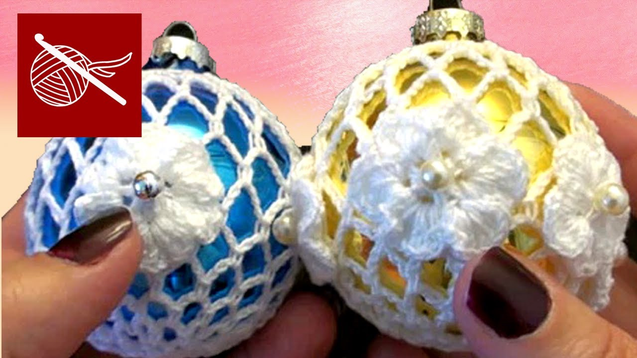 Elegant How to Crochet Lace Christmas Holiday ornament Tutorial Youtube Crochet Videos Of Lovely 45 Images Youtube Crochet Videos