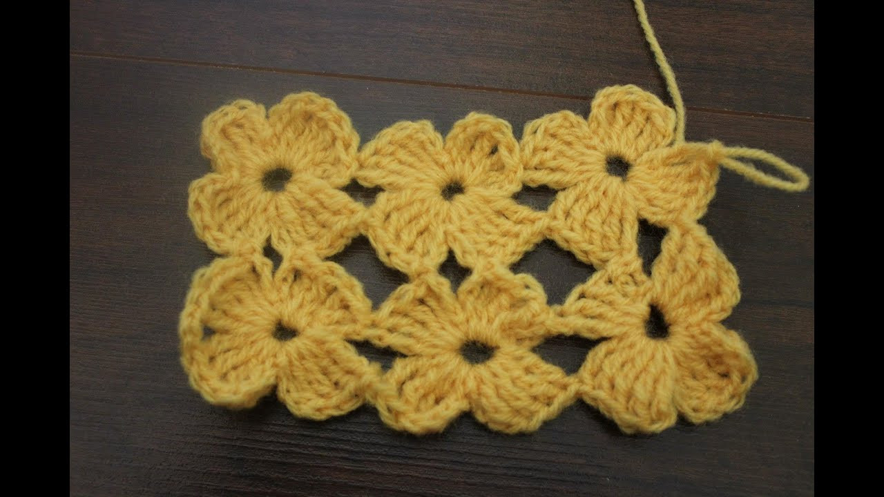 Elegant How to Crochet the Daisy Stitch Crochet Stitches Youtube Of Attractive 48 Images Crochet Stitches Youtube