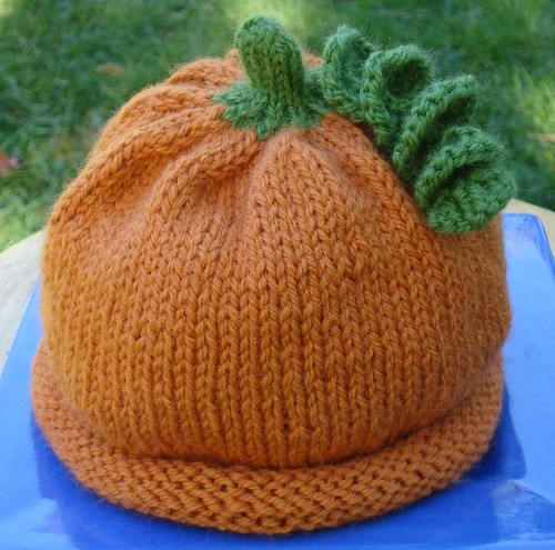 How To Knit Pumpkin Hat