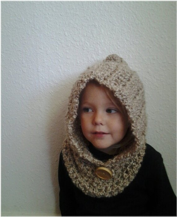 Elegant Items Similar to Hooded Kids Cowl Crochet Cowl Crocheted Crochet Cowl Neck Scarf Of Superb 49 Models Crochet Cowl Neck Scarf