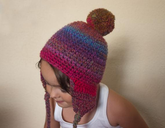 Elegant Items Similar to Pdf Crochet Pattern Pompon Hat with Quick Crochet Projects to Sell Of Fresh 45 Ideas Quick Crochet Projects to Sell