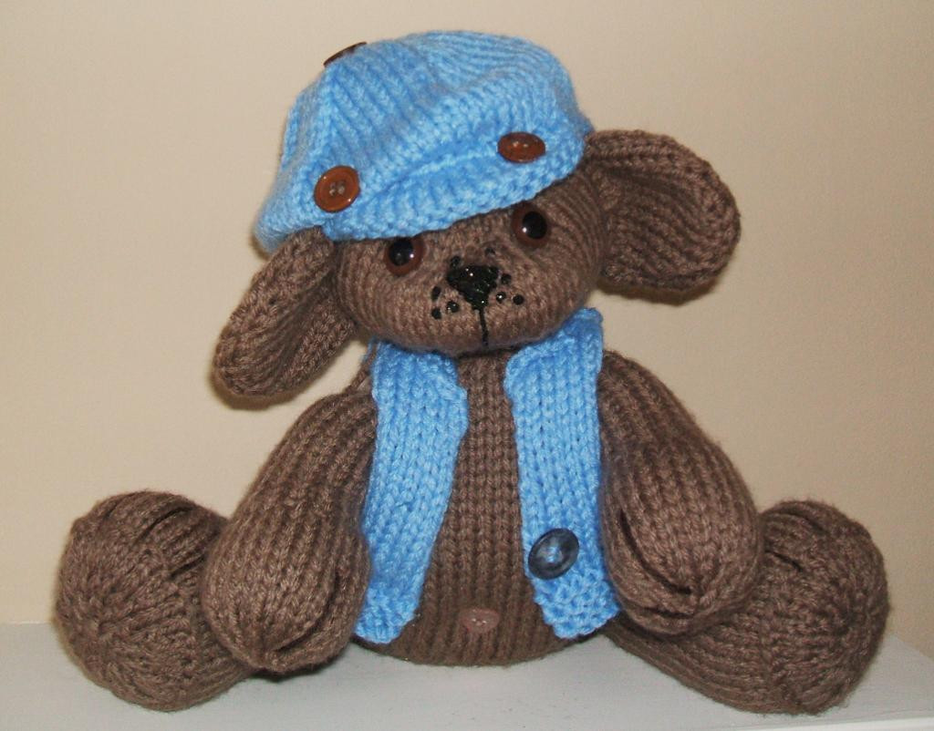 JACK KNITTED BEAR by SusanW48 Craftsy