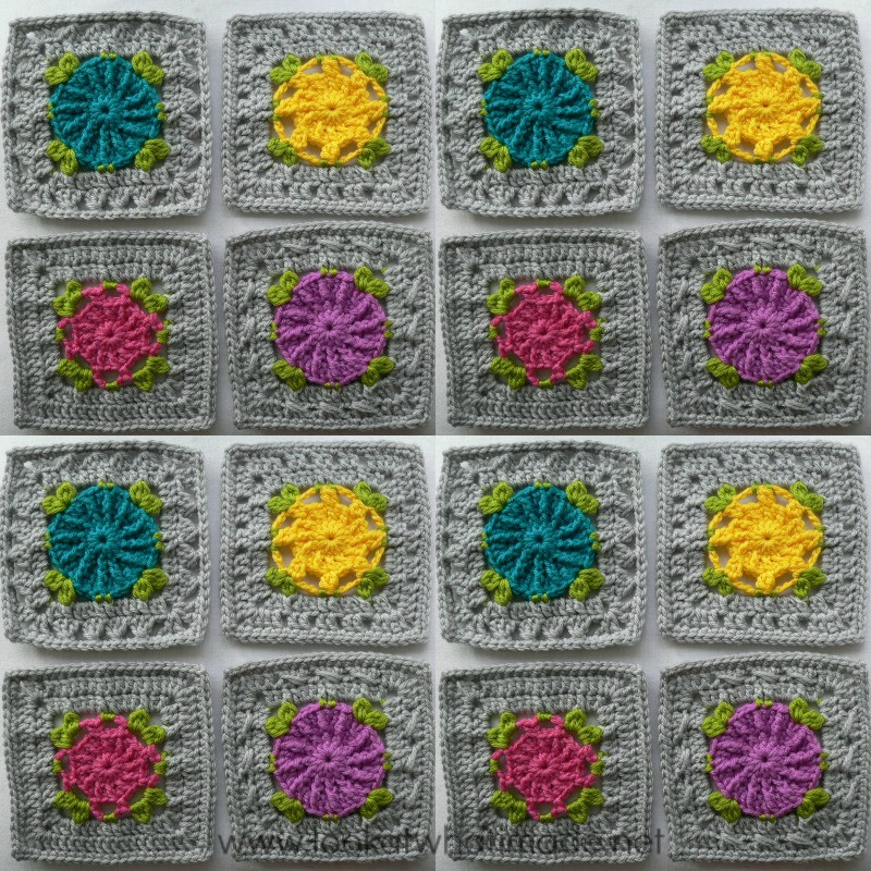 Elegant Joining Crochet Squares Part 5 Foursquares ⋆ Look at What Crochet Afghan Squares Of Gorgeous 46 Pics Crochet Afghan Squares