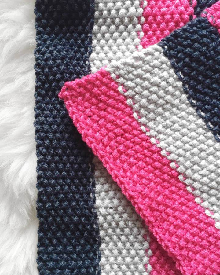 Elegant Knit Your Own Baby Beginner Stripey Blanket Kit by Stitch Baby Blanket Kits Of Delightful 48 Pictures Baby Blanket Kits